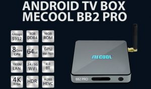 Download Android 7 1 1 stock firmware for Mecool BB2 Pro TV Box